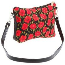 BELGIAN TAPESTRY EVENING STYLE BAG 23CM X 16CM, SMALL POPPIES 10219-47 DESIGN