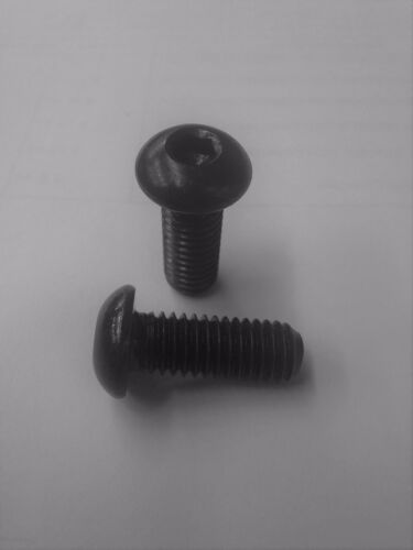 5 each Aluminum Button Head Socket Cap Screw 10-32 x 1