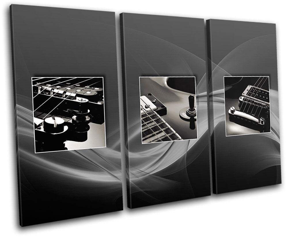 Superbe Superbe Superbe Noël sonné sonné, accueille les célébrations du nouvel an Guitars InstruHommes t Musical TREBLE TOILE murale ART Photo Print a5eb23