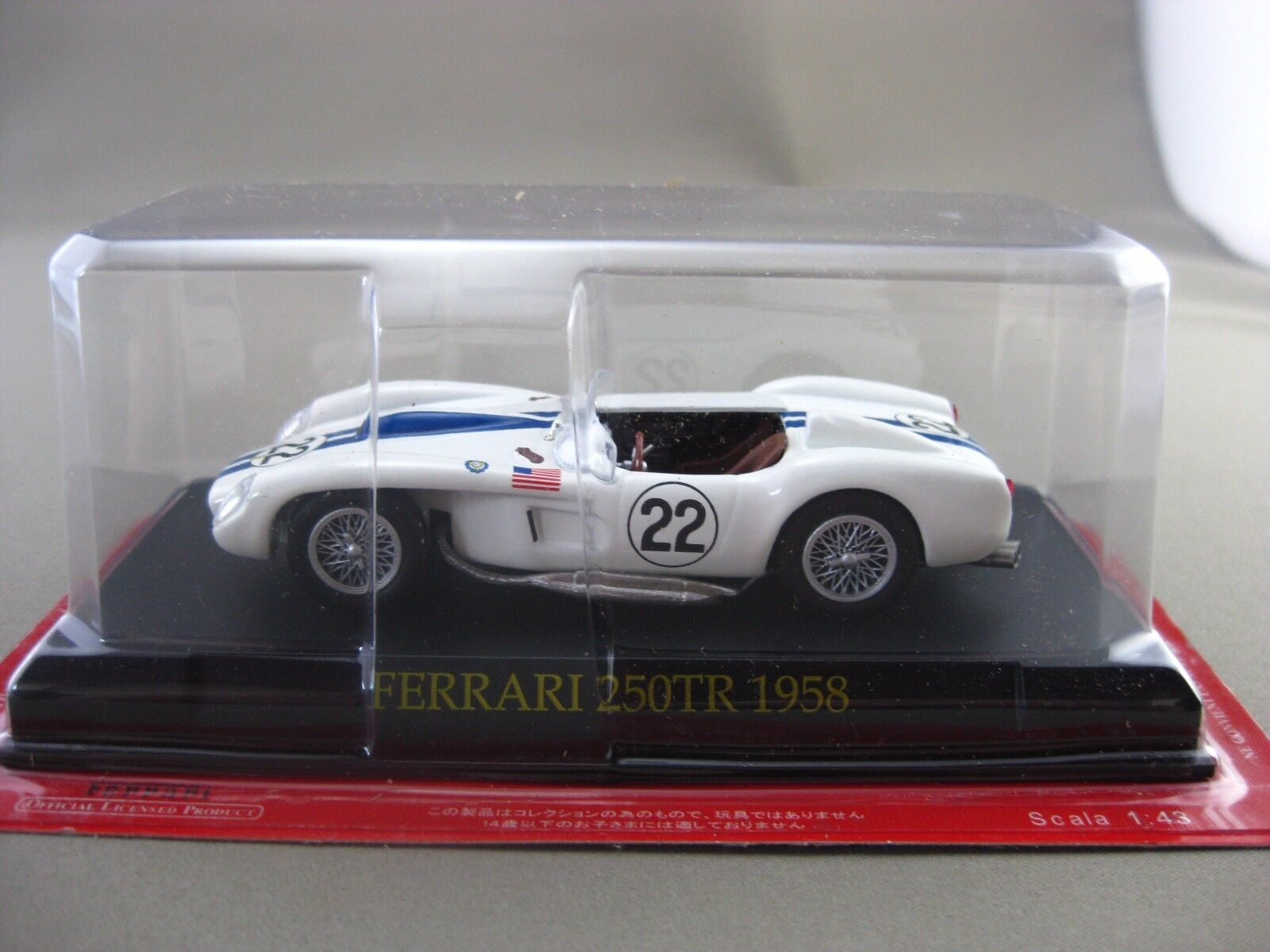 Ferrari 250TR 1958 Hachette 1 43 Diecast voiture Vol.42
