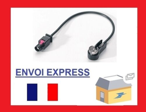 Ford S-Max 2006 25cm Fakra ISO Car Aerial Adaptor Cable Connector Lead