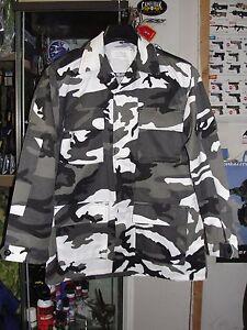 Urban Camouflage Urbain Camo Veste Jacket Us Taille Bdu L Sur Cam Détails PXnOwk80