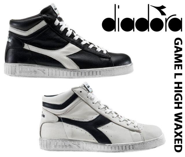 f810ddf027 NEW Diadora GAME L HIGH WAXED 159657-C1051,C5262 Sneakers HIGH TOP SHOES