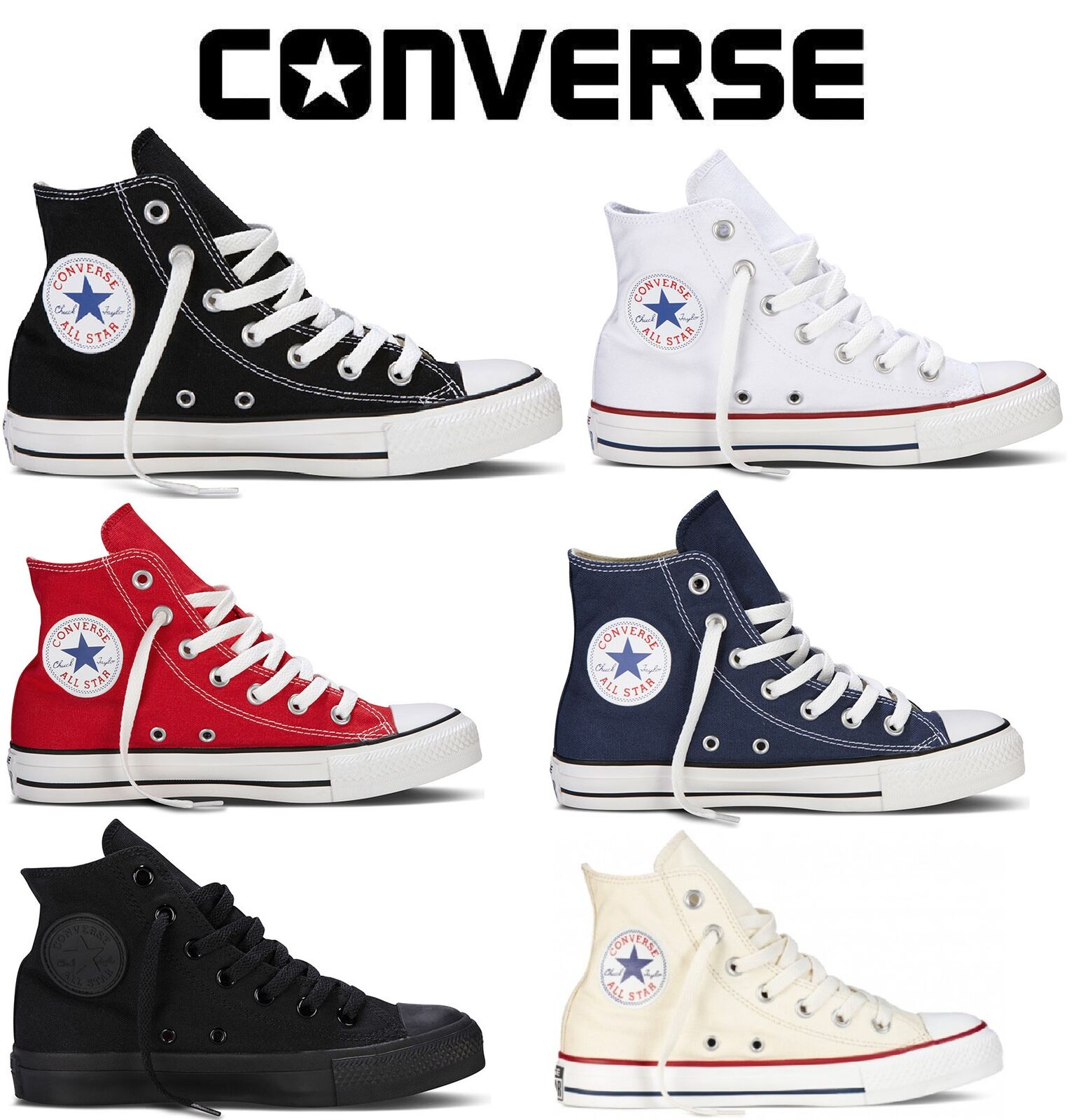 Converse Chuck Taylor Trainer High All Star NEW AUTHENTIC All colors and sizes