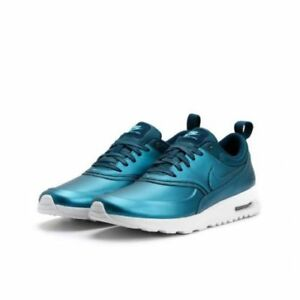 Metallic Dark Sea Covers The Nike Air Max Thea SE
