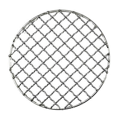 BBQ Barbecue Grill Wire Mesh Net Pot Rack Outdoor Tool 304 Stainless Steel 2PCS