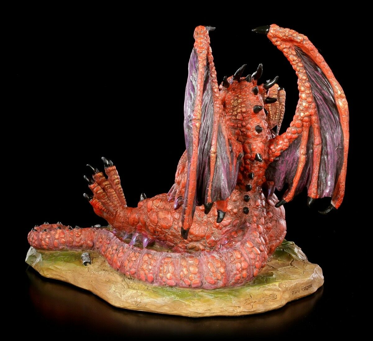 Dragon Figure - - - Lunch with a Toothpick - Ed Beard Jr.Dragon Deco Statue 05dc39