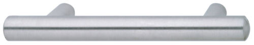 "5-3//4/"" OA Hafele 117.05.600 Bar Pull 96mm Stainless Steel"