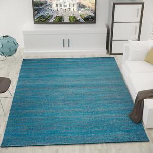 alfombra moderna de pelo corto, jaspeada, fácil de cuidar en color