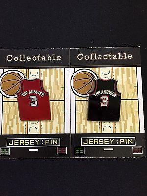 Brillant Philadelphia 76ers Allen Version Revers Pin-nba Retro Classic Collectable-set 2 Baseball & Softball