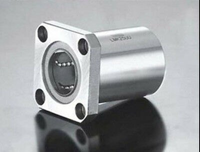 1Pcs LMK40UU 40mm Square Flange Type Linear Motion Ball Bearing Bushing