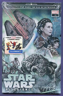 Journey To Star Wars The Rise Of Skywalker 1 Marvel 3comics Pack Walmart New Mt Ebay