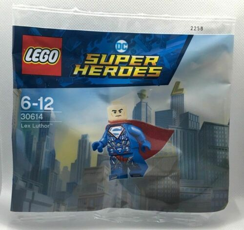 LEGO 30614 DC Super Heroes Lex Luthor Superman POLYBAG NUOVO OVP