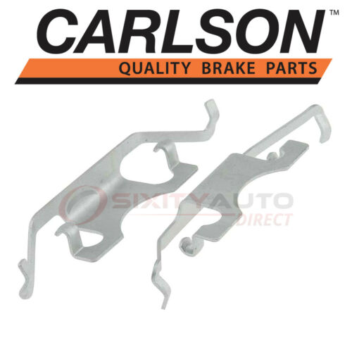 Carlson Rear Disc Brake Hardware Kit for 2007-2013 Mercedes-Benz S550 Pad ls