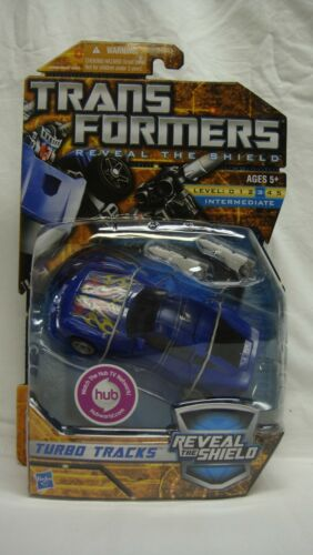 TRANSFORMERS RTS REVEAL THE SHIELD TURBO TRACKS DELUXE CLASS NEW SEALED!