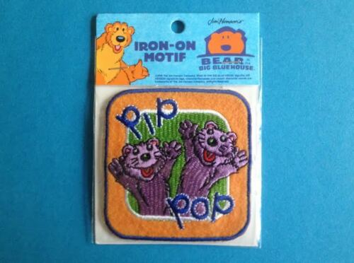 Bear The Big Blue House Iron On Hat Jacket Hoodie Backpack Shirt Patch Crest B