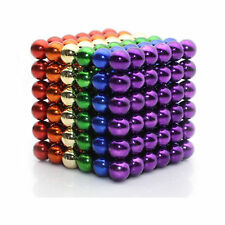 Multi-Color 216 5mm Magnet Ball Magic Beads cube Sphere 3D Puzzle ball Toy Gift
