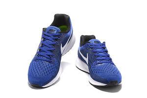 Nike Air Zoom Pegasus 34 Royal/White Size 10.5 New