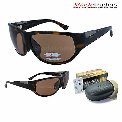 SERENGETI SALERNO ll SUNGLASSES PHOTOCHROMIC DRIVERS SHINY DARK DEMI TORTE 7311