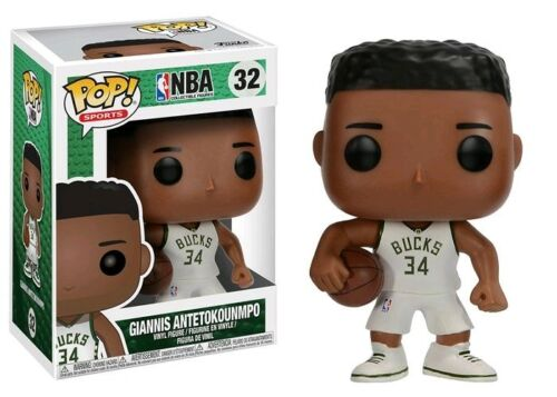 Giannis Antetokounmpo Milwaukee Bucks NBA Funko POP