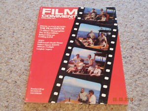 Film-Comment-March-April-1977-Volume-13-No-2-Midsection-24-Pages-The-Film-Editor