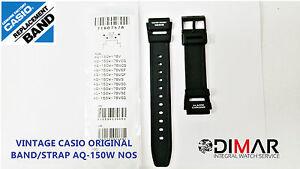 Gurt Aq-150w Nos Vintage Casio Original Uhrarmband/uhrarmband/band Zubehör