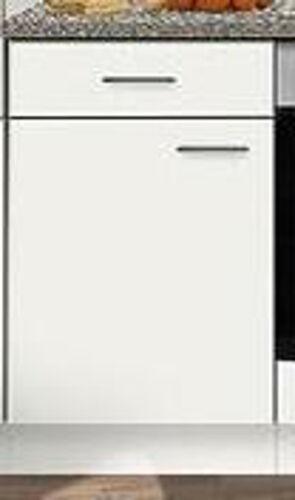 Meuble bas mankabox blanc avec plan de travail 50x50cm cuisine polyvalent armoire