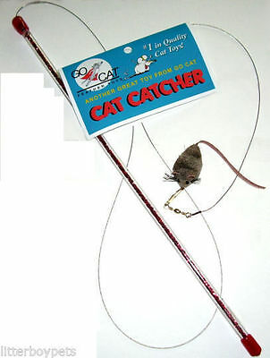 Da Bird Cat Catcher Cat Toy - by the maker of Go Cat Feather Chase toy
