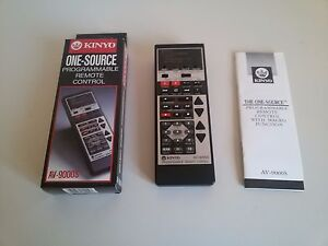 Programmable-KINYIO-AV9000S-Universal-Remote-Control-Vintage-TELECOMANDO-con-Box