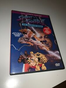 Street Fighter Ii Street Fighter Alpha Animated Movie Lot Dvd