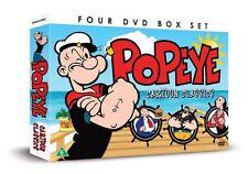 Popeye Cartoon Classics Box Set Region 4 DVD New (4 Discs)