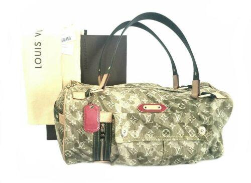 LOUIS VUITTON Denim Monogramouflage Lys Duffle Bag