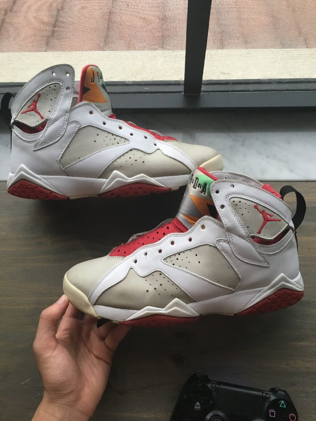 The most popular shoes for men and women mens retro cdp pack hare 7s size 9.5 100% authentic