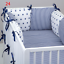 PILLOW-BUMPER-made-form-6-cushions-for-cot-bed-GREY-PINK-BLUE-NAVY-STARS thumbnail 25
