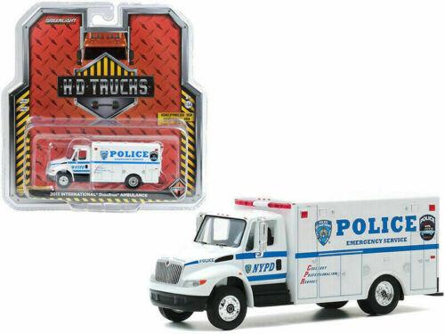 Nypd 2013 International DuraStar Police Emergency Service ** GreenLight 1:64 nuevo