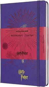 Moleskine Harry Potter 5/7 Cuaderno a Rayas Ed. Limitada 13x21 CM 240 Páginas