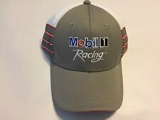 Mobil 1 Racing Hat Cap New With Out Tags Gray Red White Polyester One Size