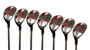 Senior-Men-s-Majek-Golf-All-Hybrid-Full-Set-5-SW-Senior-034-A-034-Flex-Utility-Clubs