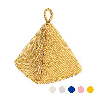 Dekorative Türanschlag-Keil-Stoff Weighted Türstopper 20cm