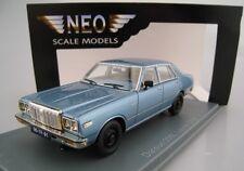 Datsun 200L Laurel C230 in blau metallic * NEO * 1:43 * OVP