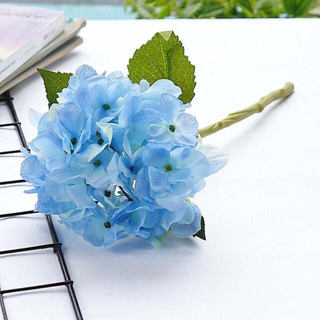 Artificial Hydrangea Flowers Diy Gift Wedding Christmas Decor For