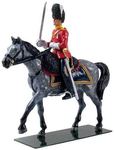 W BRITAIN 48013 - Royal Scots Dragoon Guards Mounted Officer - Limited Edition