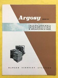 Argosy Series 200 - FREIGHTER - Hawker Siddeley Aviation - Sales Brochure