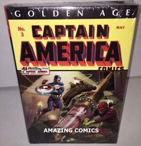 Marvel-CAPTAIN-AMERICA-GOLDEN-AGE-VOL-1-OMNIBUS-Hardcover-HC-NEW-MSRP-125