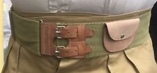 British WWI Stable Belt, adjustable up to size 40