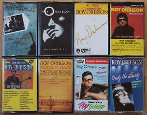 8x-ROY-ORIBISON-CASSETTE-TAPES-LOT-ALL-EXCELLENT-COND-ROCK-039-N-039-ROLL-BALLAD