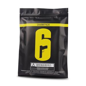 Rainbow Six R6 CHARM PACK Alpha Bag Aluminium Foil Bag with Free Random Pendant