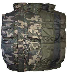 Men-039-s-Military-Hunting-Multi-Pocket-Fishing-Camo-Utility-Tactical-Cargo-Vest