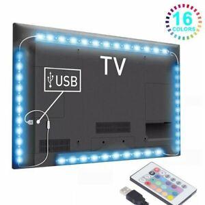 3m LED TV Hintergrundbeleuchtung USB LED Beleuchtung RGB Strip für Fernseher PC