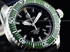 New Deep Blue 45mm DayNight Tritium T100 Automatic Sapphire Ceramic Bezel Watch
